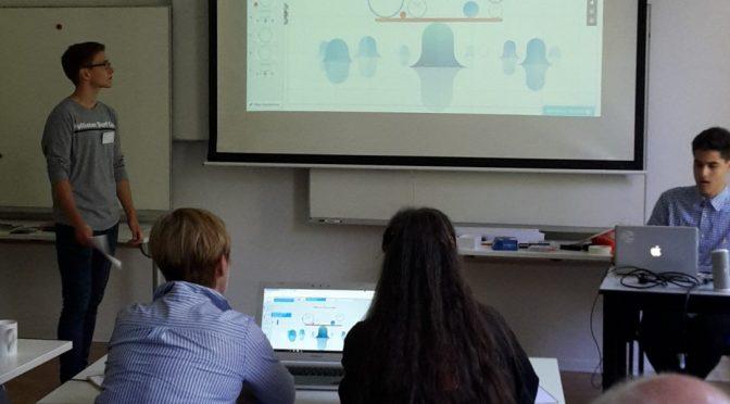 Oldenfelder Schüler unterrichten Lehrer in Berlin